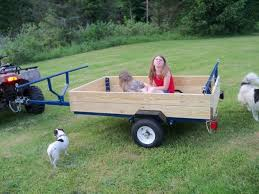 how to turn a harbor freight trailer into a kayak camping trailer