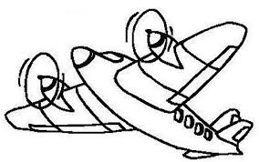 coloring pages girls airplane coloring pages kids