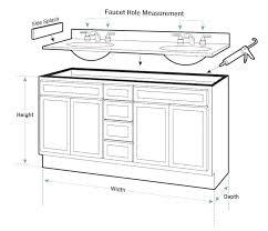 Depth Of Bathroom Vanity Vanities Comfort Height Of Bathroom Vanity Is 36 Inches Standard