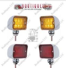 12 volt red led lights 12 volt led rod park turn brake amber red led lights 3 functions
