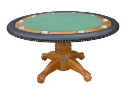 round poker table with dining top 60 round poker table w optional dining top