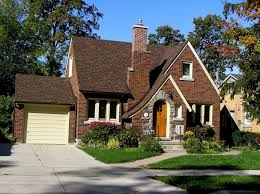English Tudor by Older Bungalow Home With Curved Asymmetrical Gable Google Search