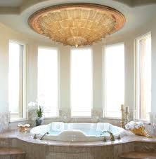 Modern Bathroom Chandeliers Glamorous 90 Modern Bathroom Chandelier Lighting Design Ideas Of