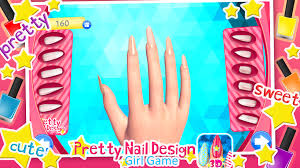 pretty nail designs girls game android apps on google play