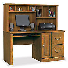 Sauder Computer Desk And Hutch Executive Style Sauder Desks Premium Sauder Computer Furniture