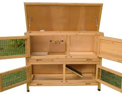 4ft Rabbit Hutch With Run Roger Xl Large 4ft Rabbit Hutch 2 Tier With Fox Proof Welded