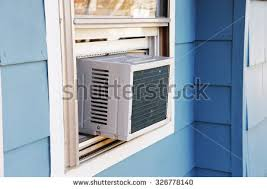 How To Install Portable Air Conditioner In Awning Window Window Air Conditioner Stock Images Royalty Free Images U0026 Vectors
