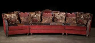 Patchwork Upholstered Furniture - sectionalfa leather patchwork in ft lauderdalered with