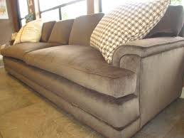 sleeping sofa bed comfortable extra large brown velvet love seat sofa bed with two cushions of