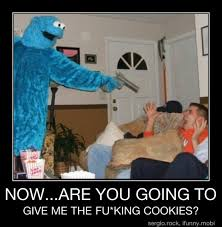 Cookie Monster Meme - angry cookie monster meme by jessicaangela memedroid