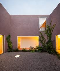 three courtyard house extrastudio archdaily