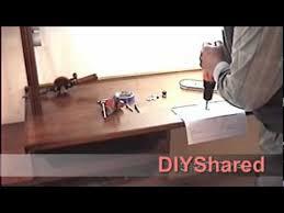 Hobby Bench Vice Diy Hobby Bench Vise Support Swivel Youtube
