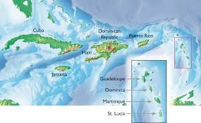 Where Is Cuba On A Map Guadeloupe U2013 Caribbean Gardens And Tropical Wild Flowers Susan