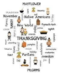 knowing the thanksgiving day about curious facts vocabulary