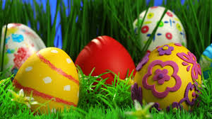 decorated easter eggs in grass hd wallpaper fullhdwpp full hd