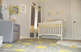 Yellow Gray Nursery Decor Gray Nursery Room Sustainablepals Org