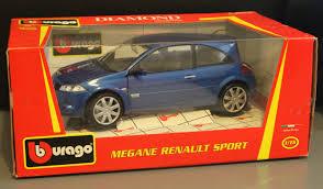 Renault Megane Sport Blue 1 18 Bburago Joostnet