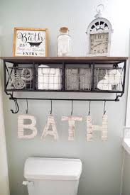 be creative with these 15 diy bathroom storage ideas to save more