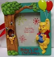 disney baby s 1st winnie pooh photo frame ornament new