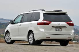 toyota minivan 2015 toyota sienna review autoweb