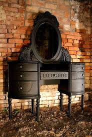 Antique Makeup Vanity Table Table Winning Antique Vanity Table With Mirror And Bench Furniture