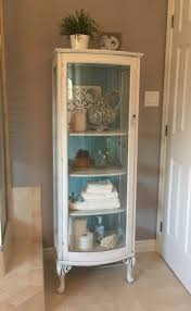 Shabby To Chic by Curio Cabinet Shabby Chic Curio Cabinet Sold To Meghan Antique