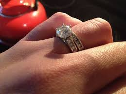 channel engagement ring mine is a cathedral channel set ring weddingbee
