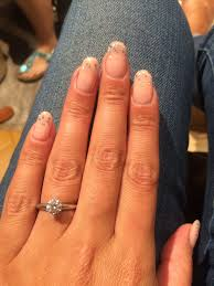 light pink or natural color gel nails weddingbee
