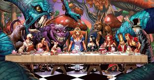 6 grimm fairy tales alice in wonderland hd wallpapers