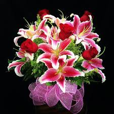 bouquet of lilies s day flower delivery in moreno valley garden of roses