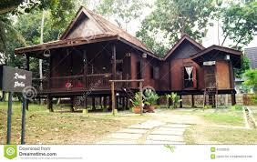 Traditional House Malay Traditional House Stock Photo Image 47792786