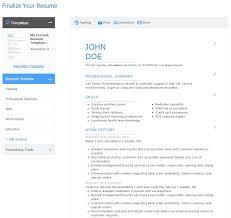 Resume Generator Online by Best Resume Builder Experience Resumes
