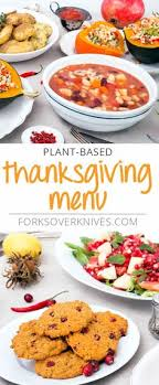 ready plant based thanksgiving menu plant based vegan