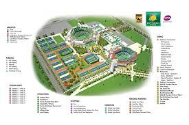 Emirates Stadium Floor Plan Site Map Bnp Paribas Open