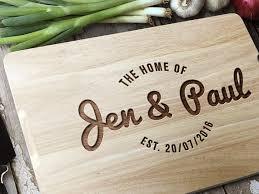 personalised cutting board custom chopping board personalised cutting board wedding