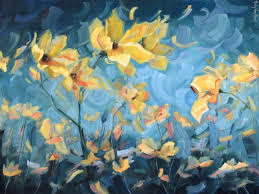 paint dream abstract flower painting by holly van hart how dreams are made