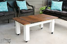 Diy Patio Coffee Table Coffee Table Handmade Pallet Patio Coffee Table Diy Outdoor