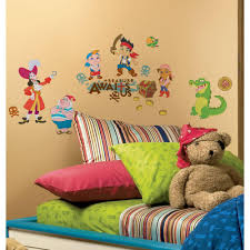 Toddler Bed Jake Roommates Jake And The Neverland Pirates Peel And Stick Wall