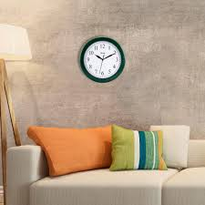 Atomic Home Decor by La Crosse Technology 10 In H Round Atomic Analog Wall Clock In