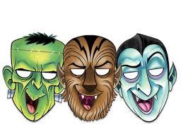 printable halloween masks decorations halloween printable