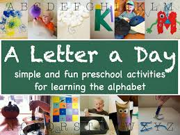 a song of sixpence a letter a day preschool unit a through e