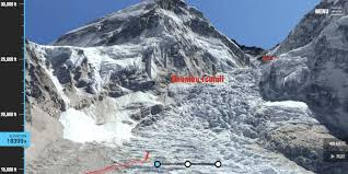 Where Is Mt Everest On A World Map by This 3d Trek Of Mount Everest Reveals The Stunning Perilous