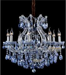 Maria Theresa Chandelier Charming Blue Crystal Maria Theresa Chandelier Contemporary Md8658