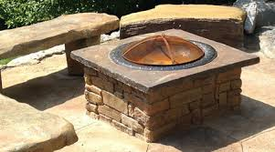 Stone Fire Pit Kit by Modular Backyard Water Feature Outdoor Kitchen U0026 Fire Pit Kits