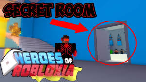 found the secret room heroes of robloxia youtube