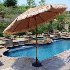 patio ideas freestanding patio umbrella with inground swimming