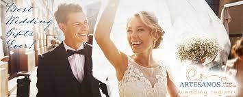 how to start a wedding registry wedding gift registry at artesanos artesanos design collection