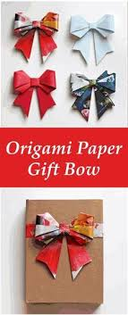 gift bow diy how to diy origami paper gift bow diy origami gift bow and