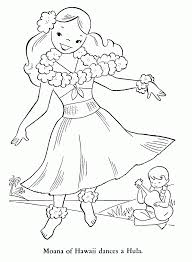 hawaii coloring pages printable kids coloring