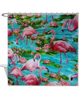 Flamingo Shower Curtains Surprise Amazing Deals For Smartoo Llc Shower Curtains